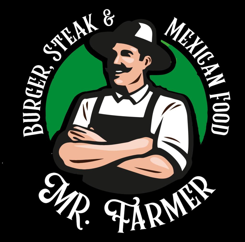 mr farmer white logo